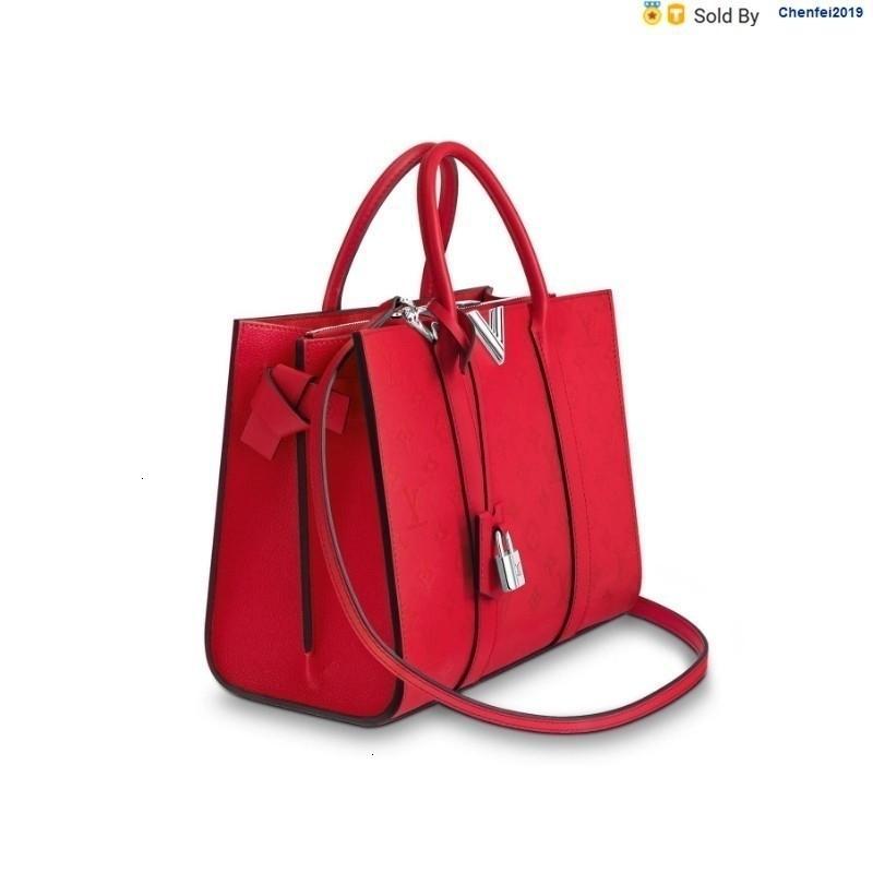 chenfei2019 WFBN Very Tote Handbag Red Shoulder Bag M43542 Totes Handbags Shoulder Bags Backpacks Wallets Purse