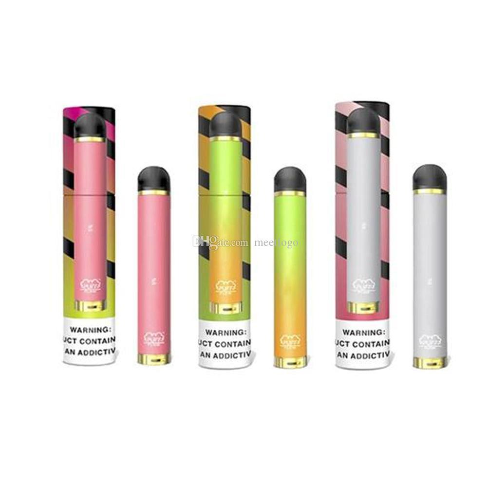 Предварительно заполненная одноразовая Puff Flow Vape Ручка Устройство 4мли Картриджи Бобы Starter Kit 600mAh Аккумулятор Vape Pen Одноразовой пуфы