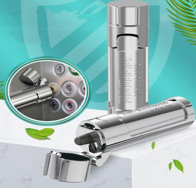 Chaîne Longe clé Portable No-Touch ascenseur Outils bouton Contactless EDC Ouvre-porte de l'outil clé de sécurité Presse ascenseur outil GGA3560-9