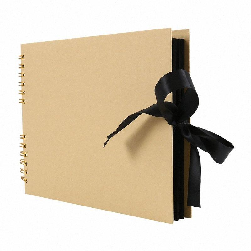 2020 2020 New Photo Scrapbook For Photoalbum Craft Paper 80 Pages DIY Scrapbooking Wedding Photo Anniversary Gifts PBzz#