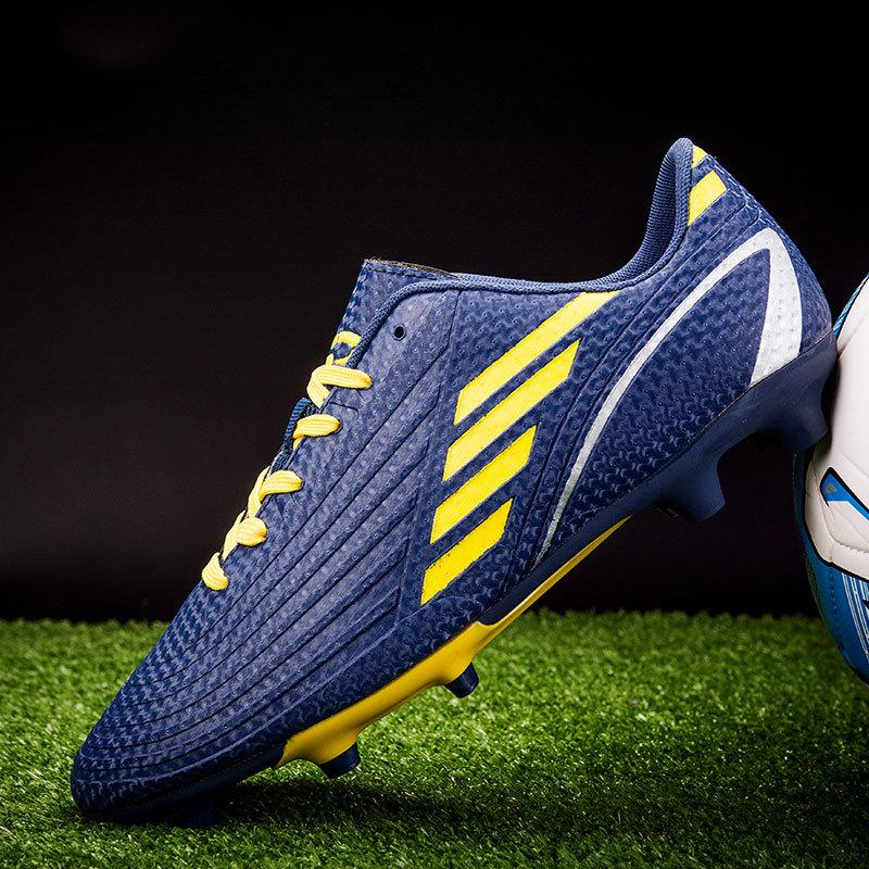 MWY Tacos de fútbol de Futsal atléticos zapatos de fútbol al aire libre de los hombres de Formación zapatillas de deporte Zapatillas Futbol antideslizante Fútbol Botas