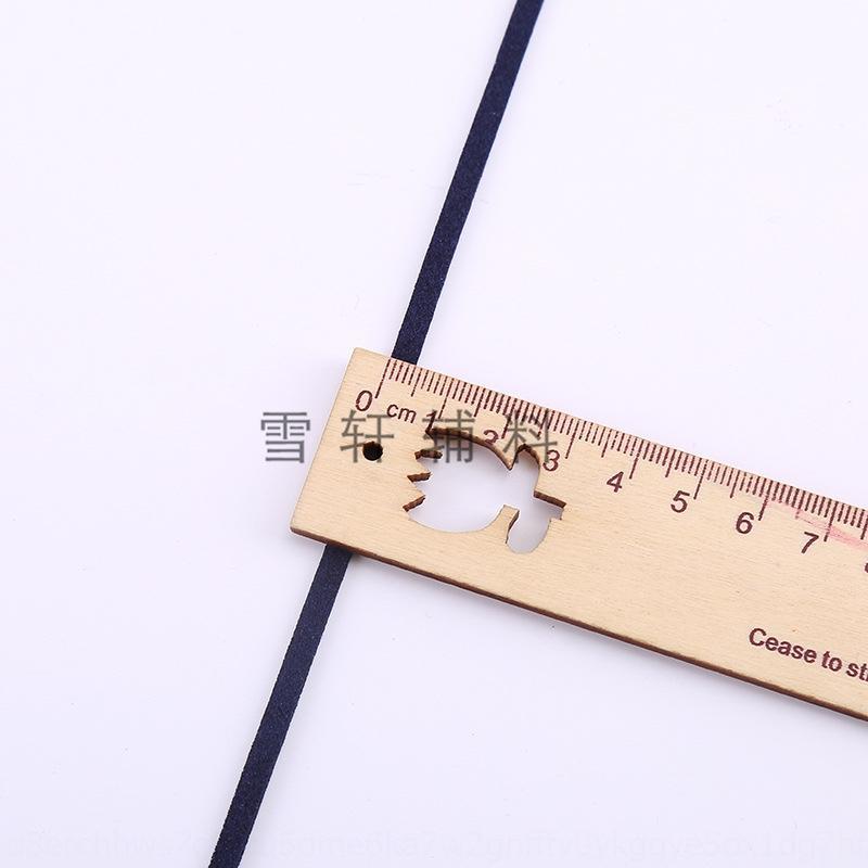 VtlcB Protection de l'environnement 5 mm corde bande velours coréenne accessoires pour cheveux coréens diy double face imitation velours accessoires bricolage c OVhQM