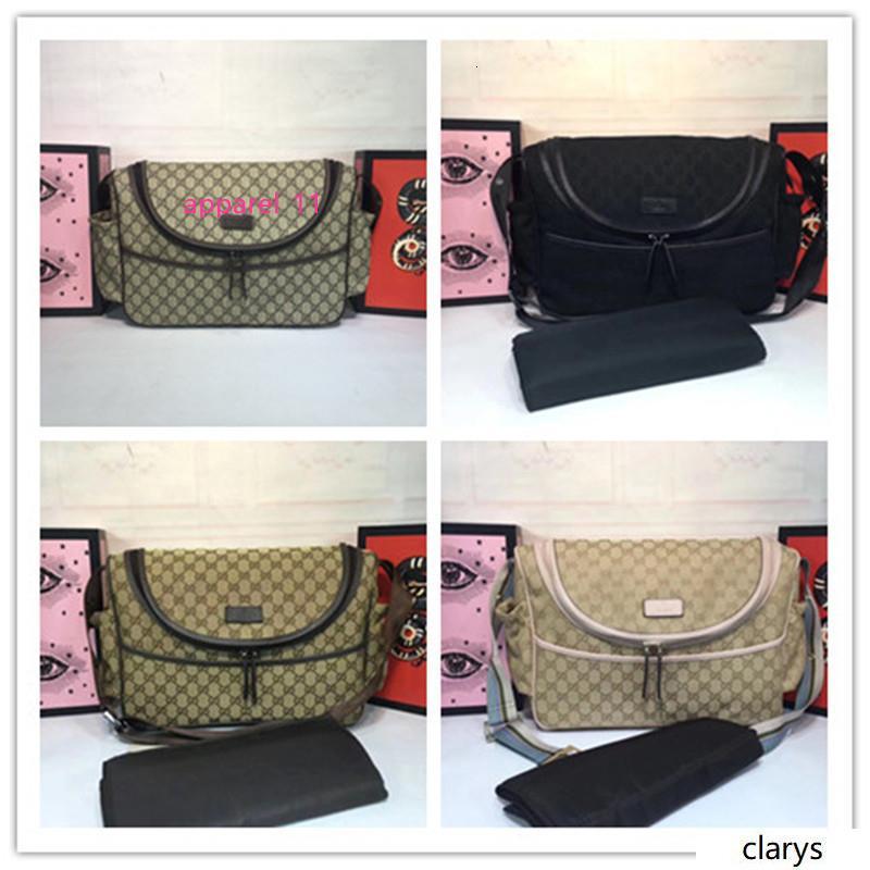 Pannolino del bambino di Uomini Messenger Bag GG canvas più spalla 123326 dimensioni borsa per pannolini in pelle sacchetto: 44 * 30 * 13 centimetri
