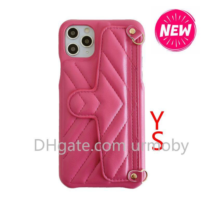 casse del telefono del progettista per iphone 11 pro max con la carta di tasca Baldric supportabile Back Cover per iPhone XR XS MAX 7 8plus