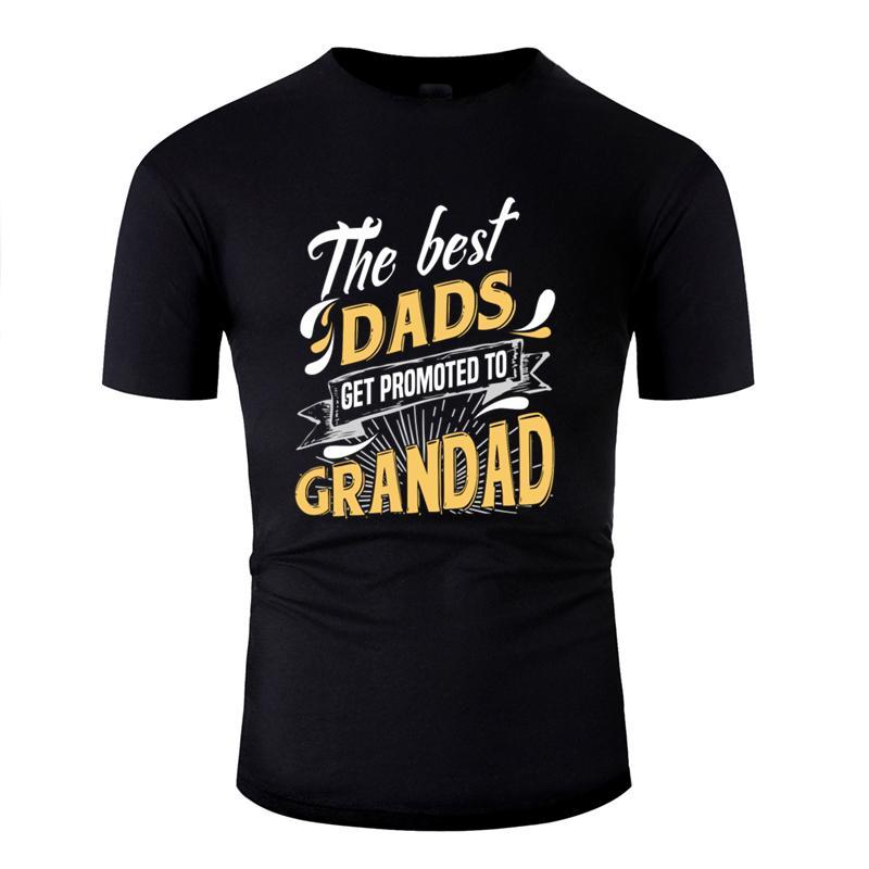 Новая мода классические лучшие папам получить звание дедушку подарок для дедуля футболка 2019 Trend сплошной цвет майка O шеи хип-хоп