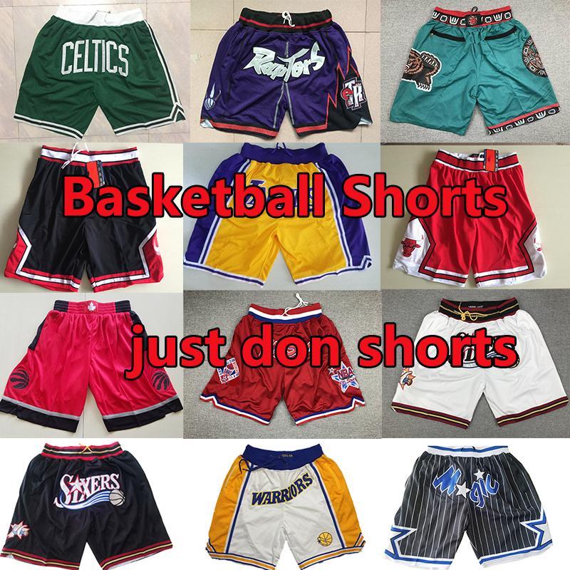 Genähte Basketball Shorts don nur Shorts lebron carter mitchell ness Alle Teams Jogginghose Pantalones de baloncesto