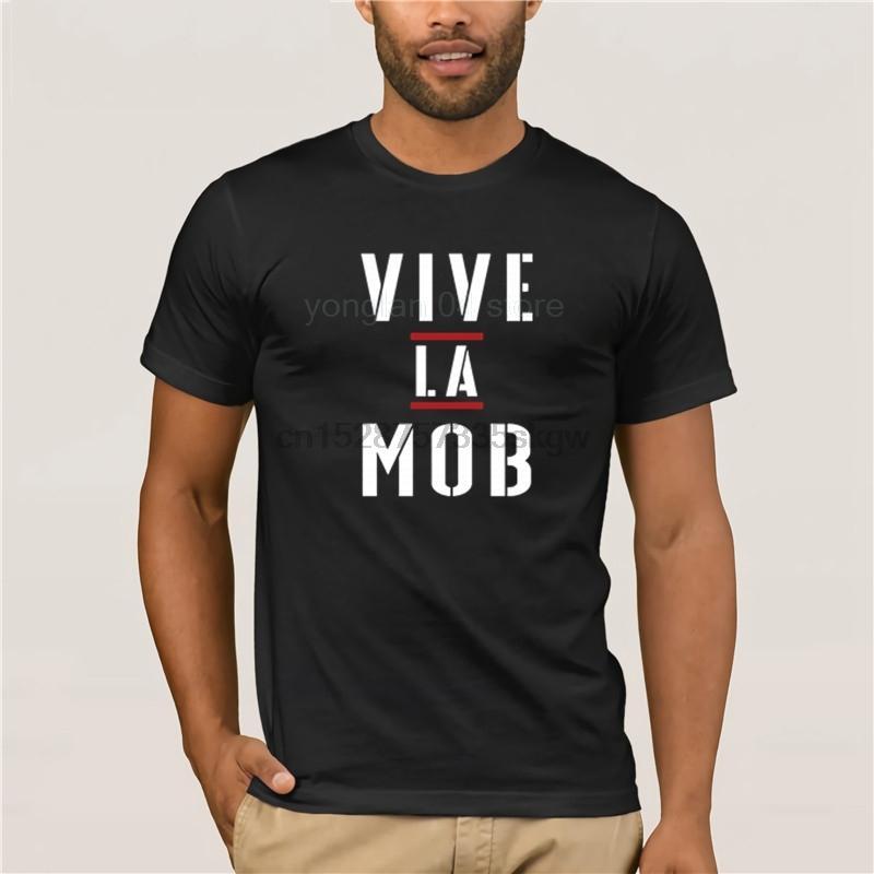 Viva o MOB MOB GIFT T moda masculina camiseta personalidade camisa do verão 100% algodão