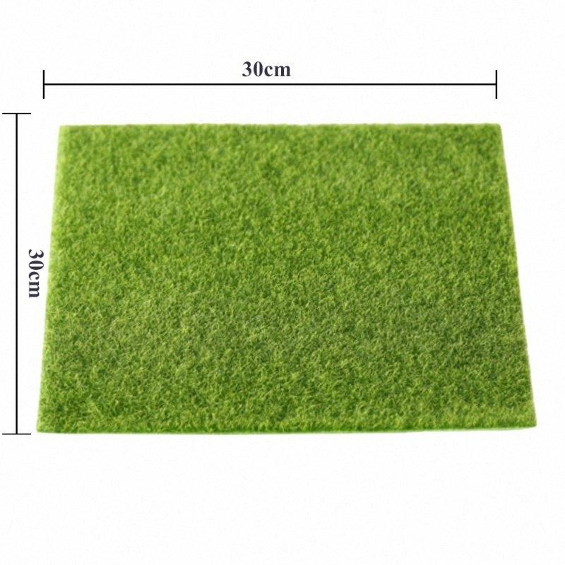 3D Real Touch Gefälschte Moss Artificial Lawn Micro Landschaft Moos Artificiais Gras Blumen Laub für Home Hochzeit Dekoration xfMl #