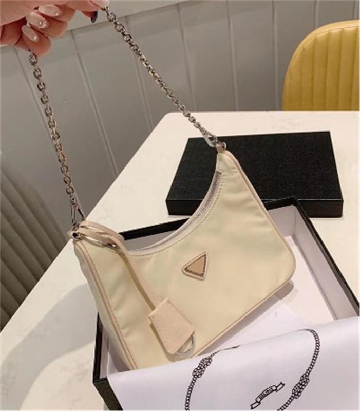 2020 New Shoulder Luxo Bag de alta qualidade bolsa de moda bom jogo Nylon Único Shoulder Span * CFY2001073