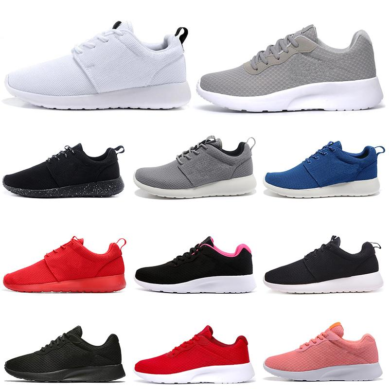 Tanjun Londres 1.0 3.0 zapatos corrientes de triple blanco negro azul marino ligero y transpirable para mujer para hombre entrenadores al aire libre las zapatillas de deporte
