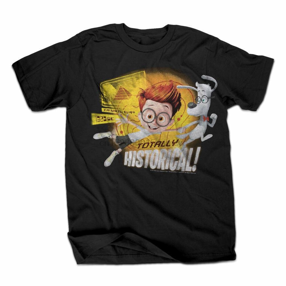 M. Peabody et Sherman Totalement historique Hommes T-shirt noir