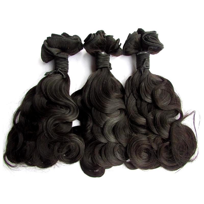 hair factory make order super double drawn brazilian virgin human hair bundle body wave best unprcessed fumi hair natural color 100g/pcs