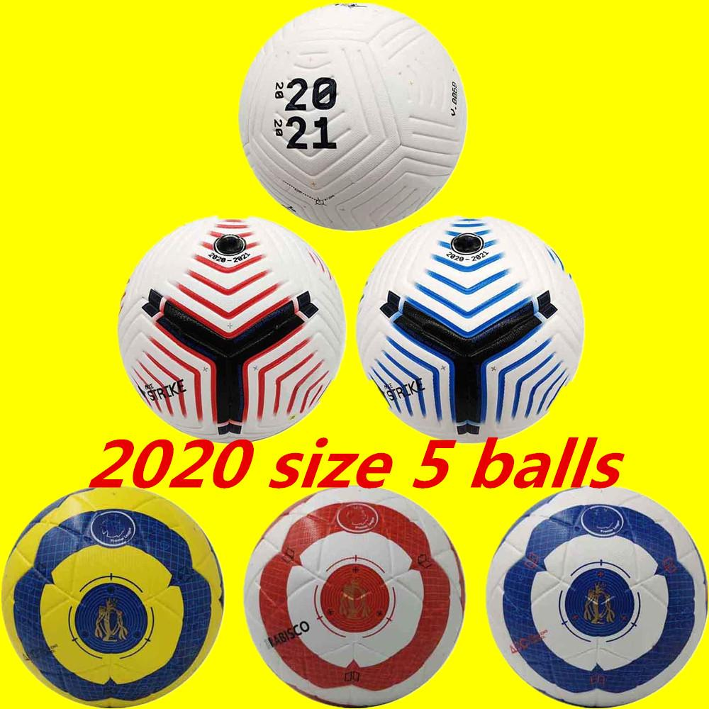 20 21 Best quality match Soccer ball 2020 size 5 balls granules slip-resistant football Free shipping high quality ball