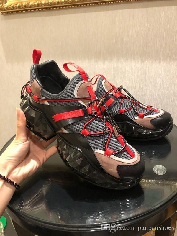 Designer Sneakers Speed Trainer Preto Vermelho Gypsophila Triplo Preto Moda Plano Sock Botas Casual Shoes Speed Trainer Runner rx190630