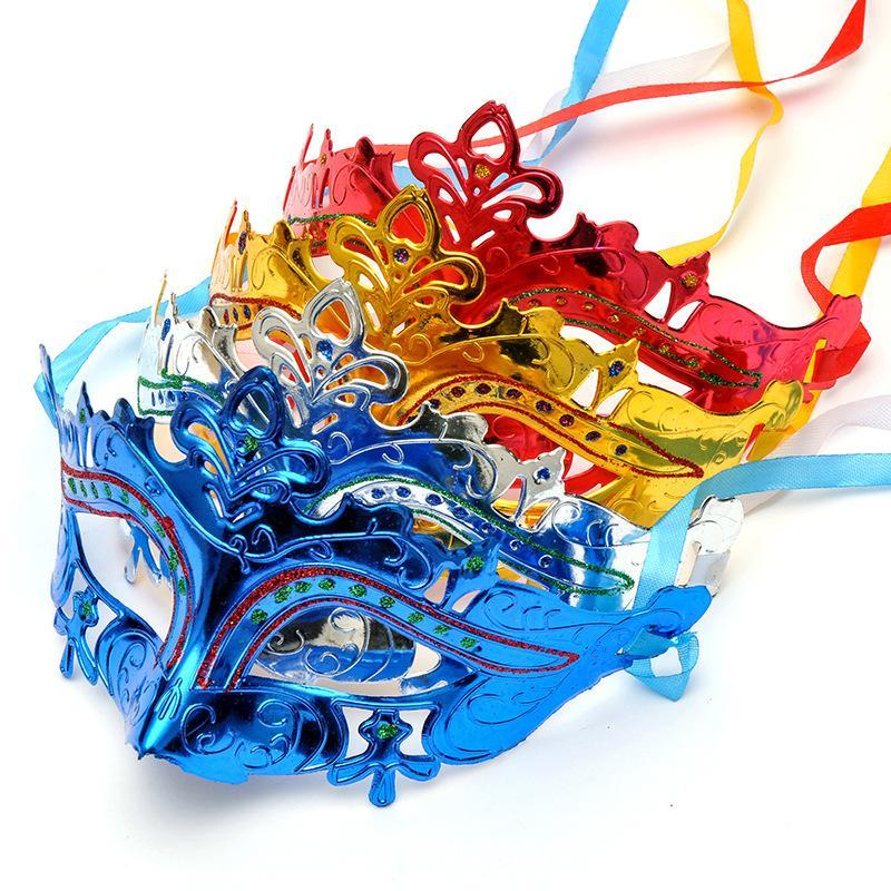 Parti Venedik Masquerade Maskeleri Cadılar Bayramı Seksi Pullarda Karnaval Dans Maskesi Cosplay Parti Carnival Düğün Hediye Mix Renkler BH2047 CY Maskesi