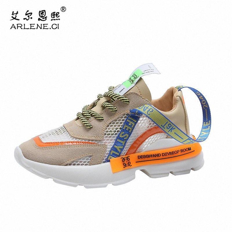 Femme 2020 panier Nouvelle Tendance Tennis Femmes Chaussures Femme Respirant Chunky Plateforme Chaussures Femmes Gym Sport Chaussures Tenis Feminino umjy #