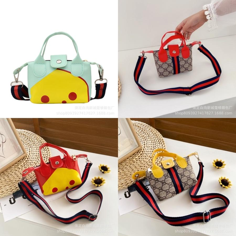 Bambini Kid ragazze PU Crossbody Borse Carino Lolita Rabbit Ears dolce Itabag trasparente Schoolbag Shoulder Bag Bookbag Handbag Satchel Zaino # 189