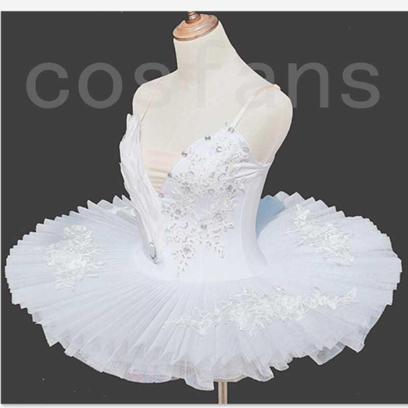 Балет Tutus Белых Лебединого озера взрослые Балет Танец Одежда Тута Юбка Женщина Балерина платье дети девушка день рождение рождественские подарки