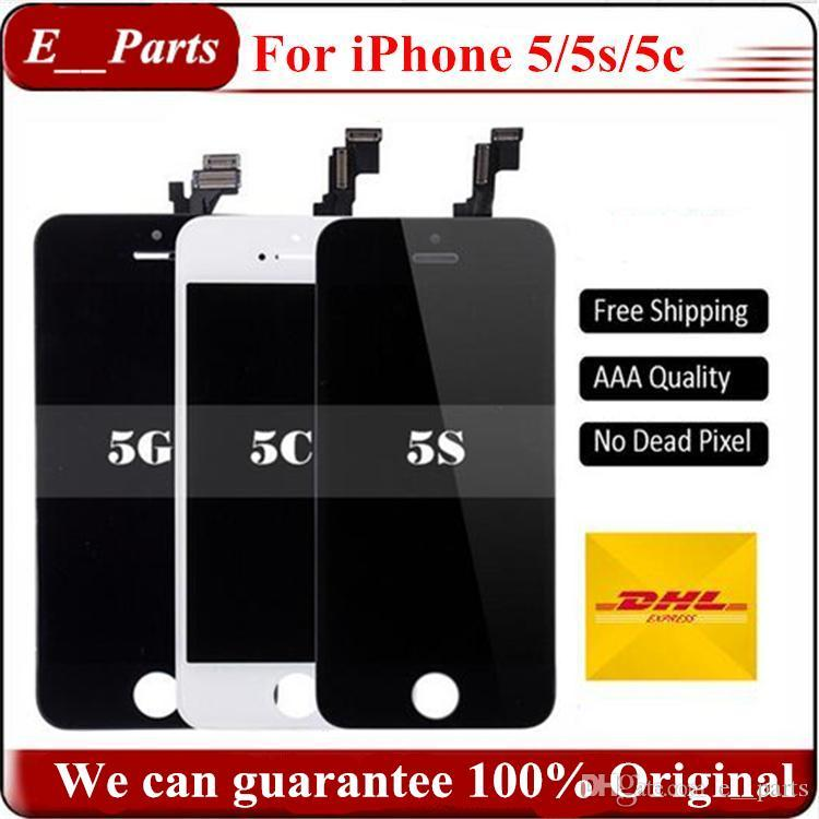 High brightness For iPhone 5 5S 5C 5SE LCD Display Touch Screen Digitizer Repair Replacement