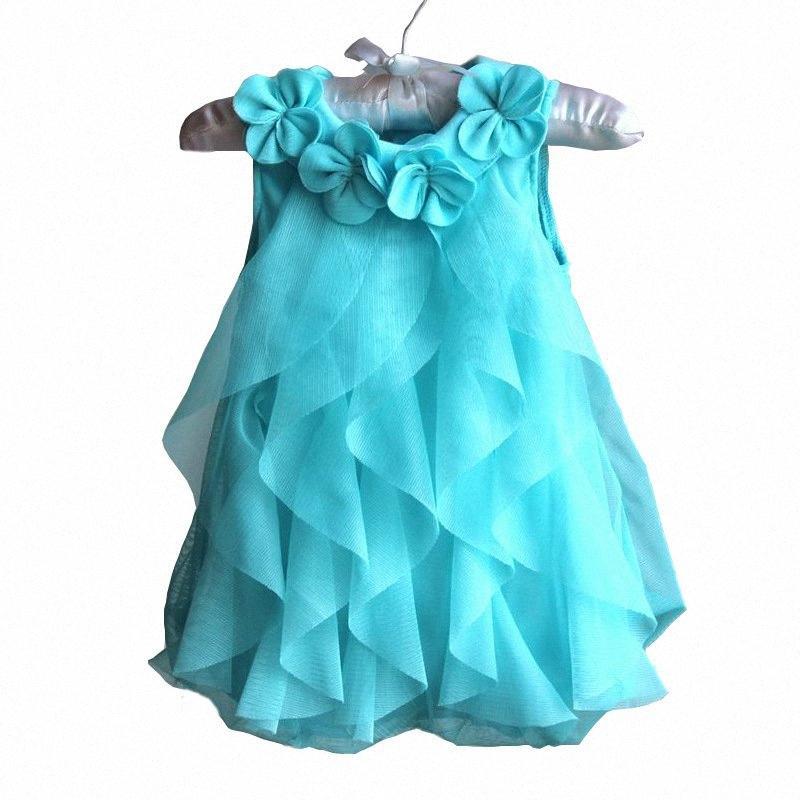 2020 2020 niña de vestido de fiesta de gasa vestido de verano recién nacido princesa infantil cumpleaños de la ropa del bebé ropa de la muchacha Vestidos nKLw #