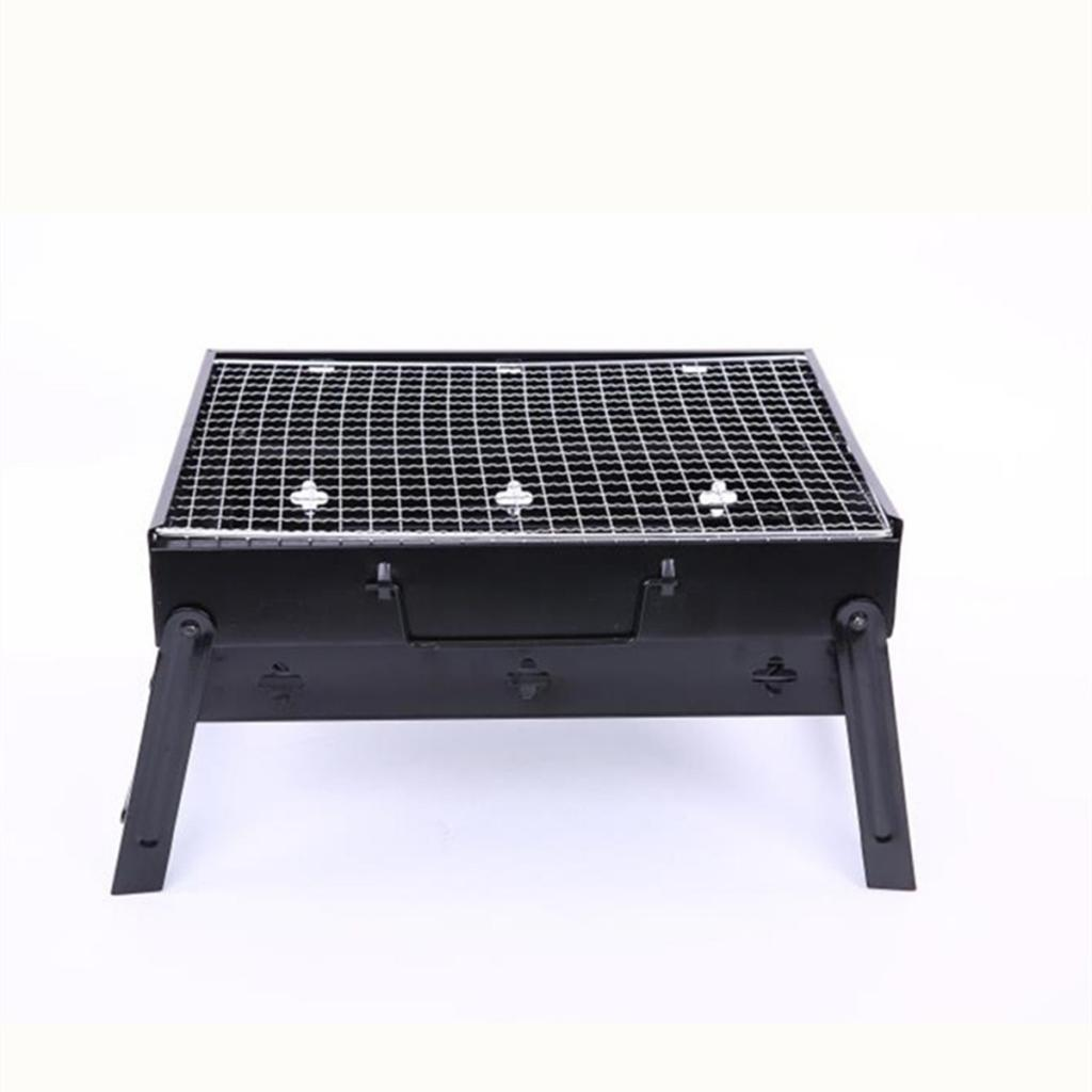 PORTABLE BARBECUE CHARCOAL GRILL CAMPING OUTDOOR BBQ COOKING PICNIC TRAVEL STOVE