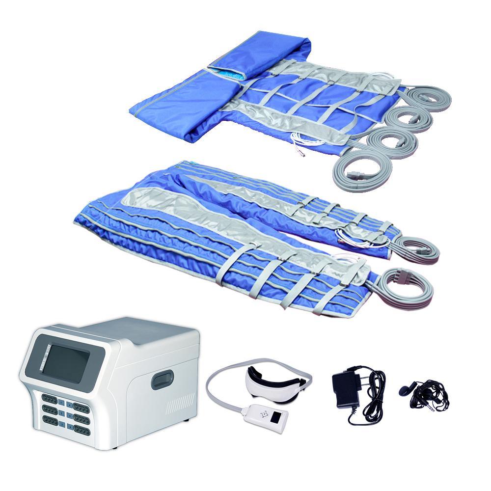 DHL / TNT envío cámara de aire 24 presoterapia máquina de drenaje linfático