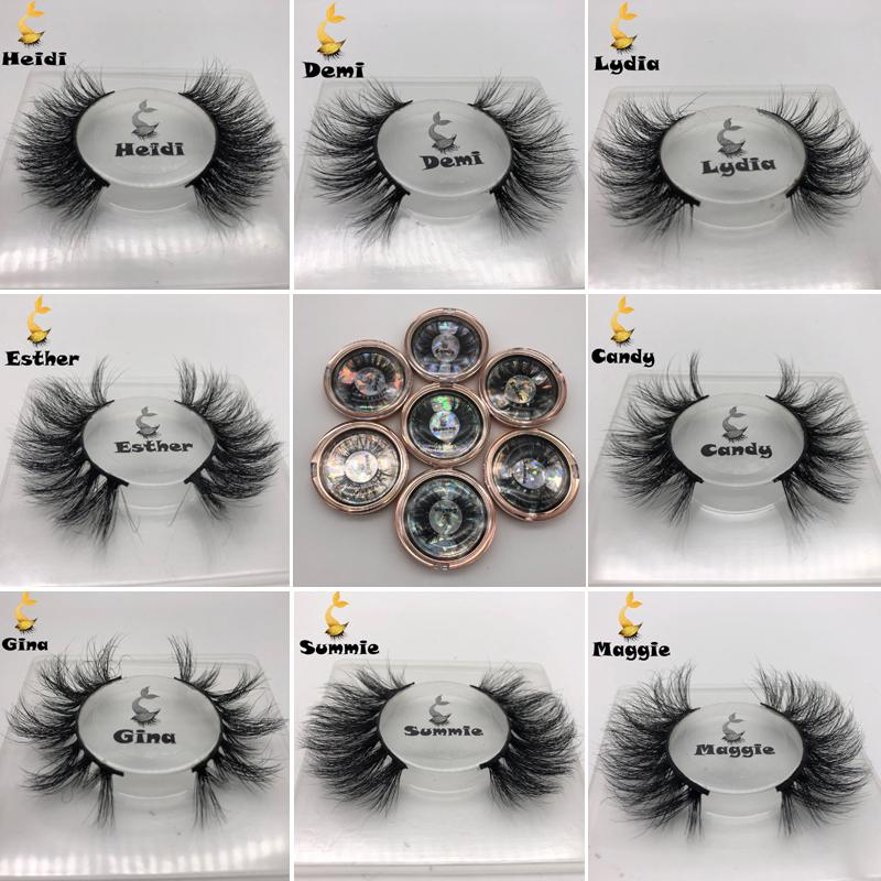 NEW 3D Mink Wimpern handgemachte falsche Wimpern Natürliche Curly Mink Lashes Kreuz Mink Wimpernverlängerung Makeup-Werkzeug-heiße Art-gefälschte Wimper