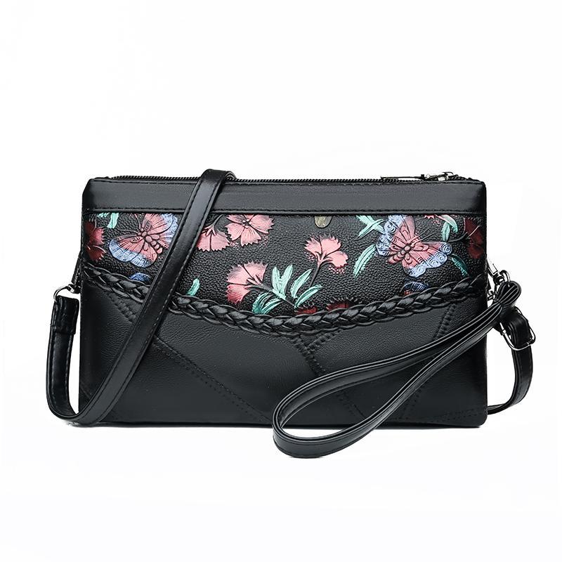 Bayanlar Kadın Crossbody Lüks Tasarımcı Çanta Debriyaj Çanta Cüzdan İçin Kadınlar Küçük omuz çantaları% 100 Gerçek Deri Çanta