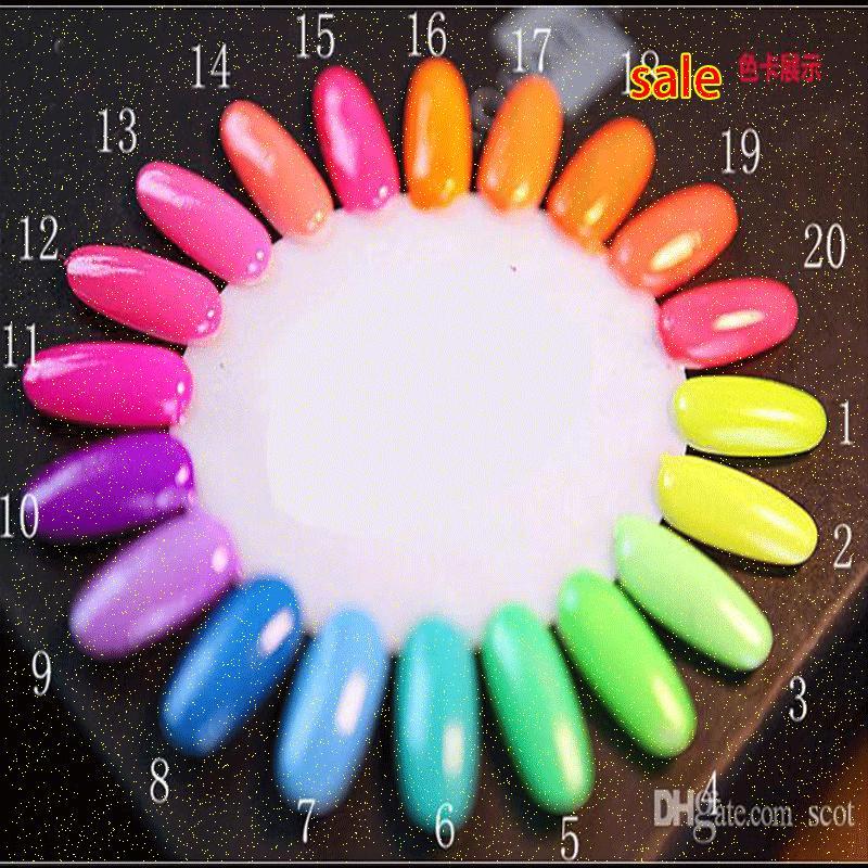 Feshion Esmalte Gel Nail Polish Glow In The Dark Luminous Fluorescent Paint Nail Polish Set Varnish Glitter Lacquer TlV5#