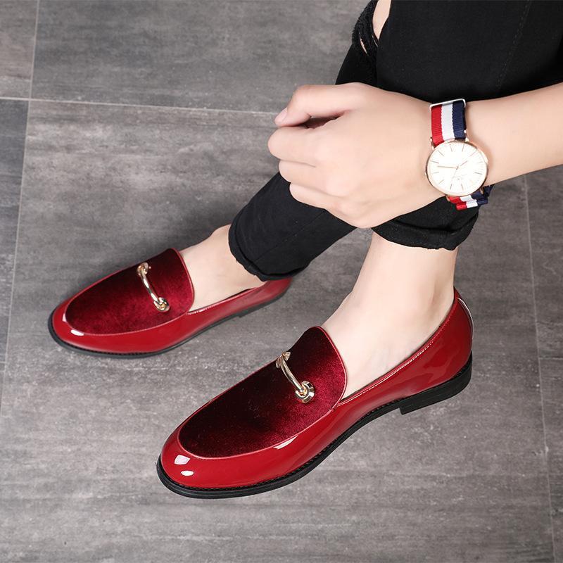 M-anxiu 2020 Mais recente formais sapatos de bico fino vestido Homens Moda sapatos de couro Sapatos Oxford para homens Mariage sapatos de casamento CX200729