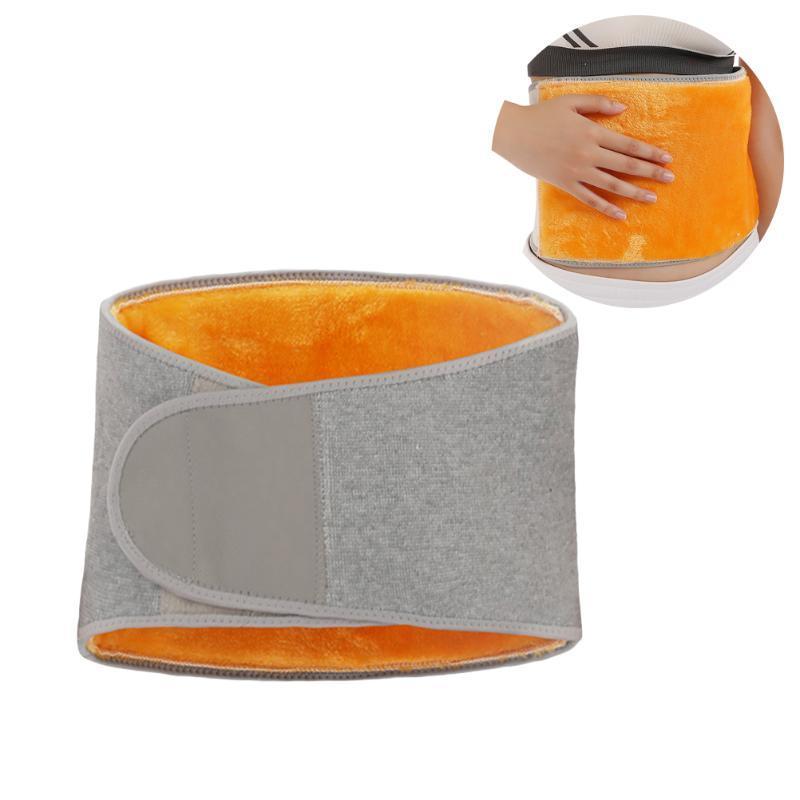 Adulte Thicken d'hiver en peluche Ceinture de soutien lombaire taille chaud douce et chaude confortable abdominale Protecteur Retour Brace rein Binder