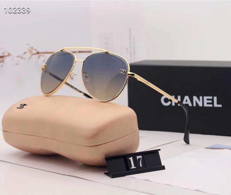 Designer Polarizerd Sonnenbrillen für Herren-Glasspiegel-Gril Lense Vintage-Sonnenbrillen Brillen Zubehör Frauen mit Box 1227 #