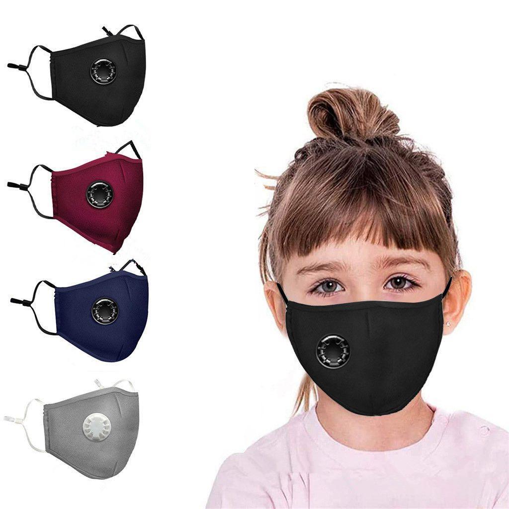 Válvula respiratoria del polvo anti Mascarilla plegable con la válvula de protección a prueba de polvo PM2.5 mascarillas para niños y adultos DHF452