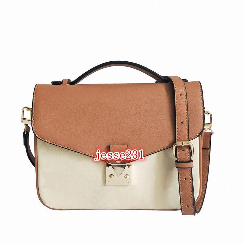 موضة حقائب اليد والمحافظ كلاسيكي CROSSBODY المرأة حقيبة يد حقيبة الكتف رسول السيدات حقيبة باريس الطباعة قديم زهرة حمل حقائب