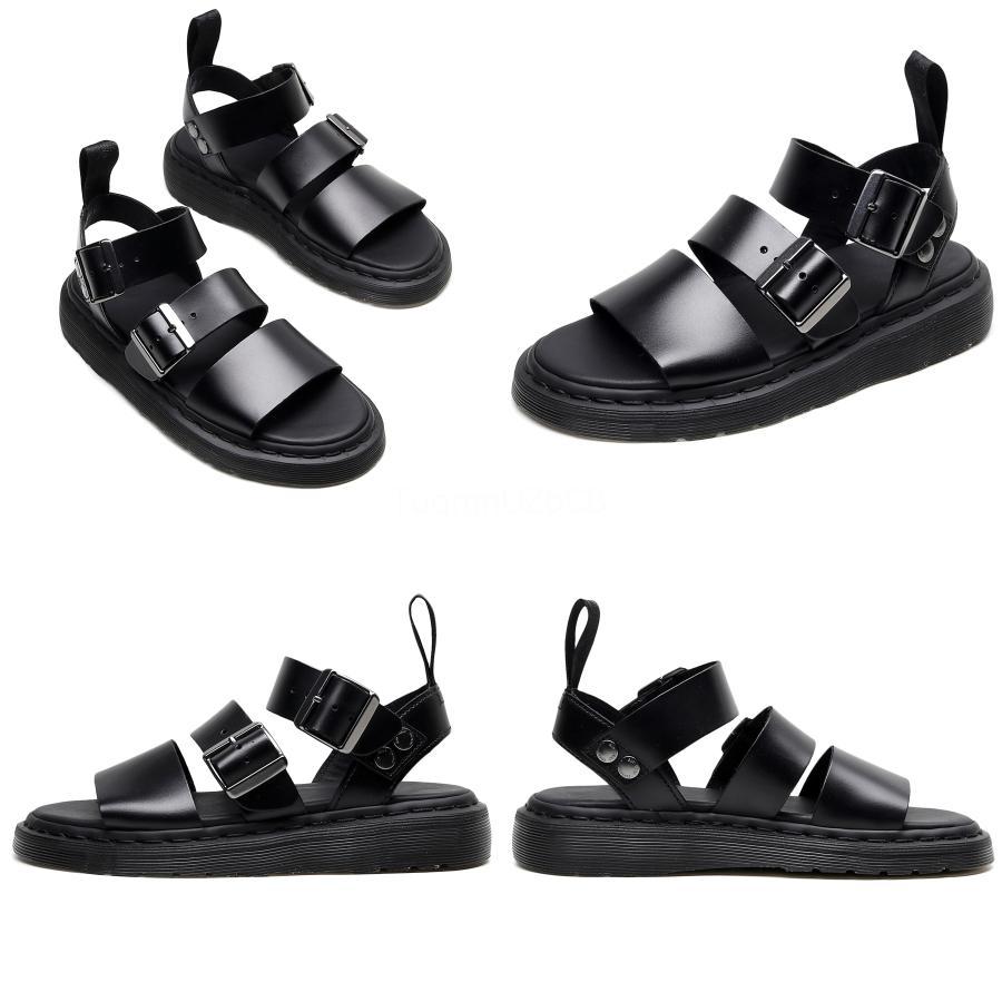 Hommes Casual Shoes Sandales d'été d'affaires à double usage à fond plat Chaussures respirant Fornon-Slip Sandales tendance Lazy Beach # 528
