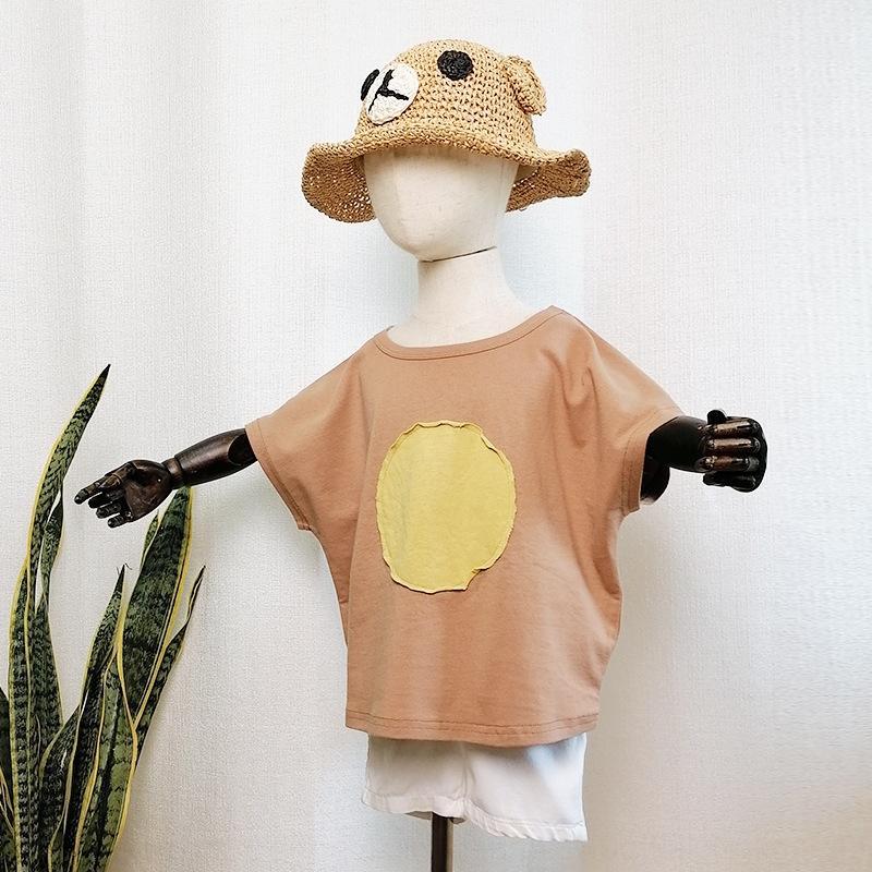 Nuova estate 2020 maglietta per bambini a maniche corte superiore per bambini T-shirt