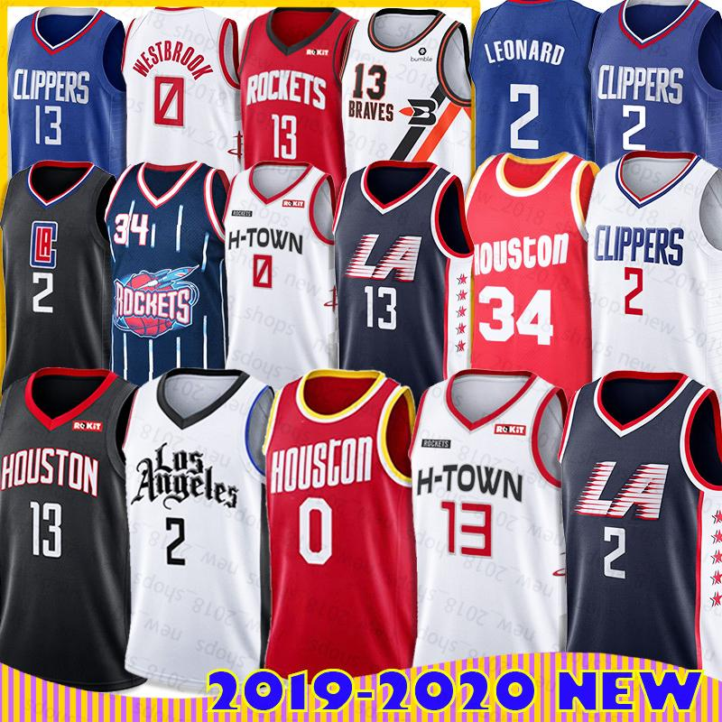 2020 La Kawhi Clippers Leonard Jersey Houston Russell Rockets Westbrook Jerseys Paul James George Harden 13 Nba Hakeem Basketball Olajuwon From No1 Jerseys1 73 68 Dhgate Com