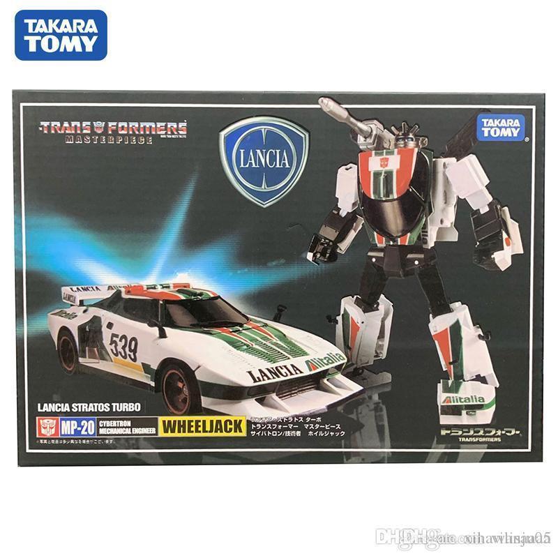 Takara Tomy Trasformazione MP20 CAR metallo Parte 18CM Wheeljack Autobots figura di azione Giocattoli deformazione del robot del regalo dei bambini 66