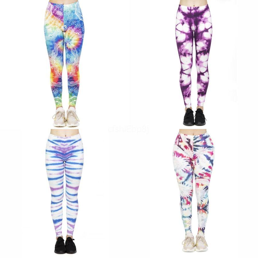 3D-Druck-Gamaschen-Frauen Sports Workout Legins Sport Stretchy Fitness Legging Compression Push Up Leggings # 323