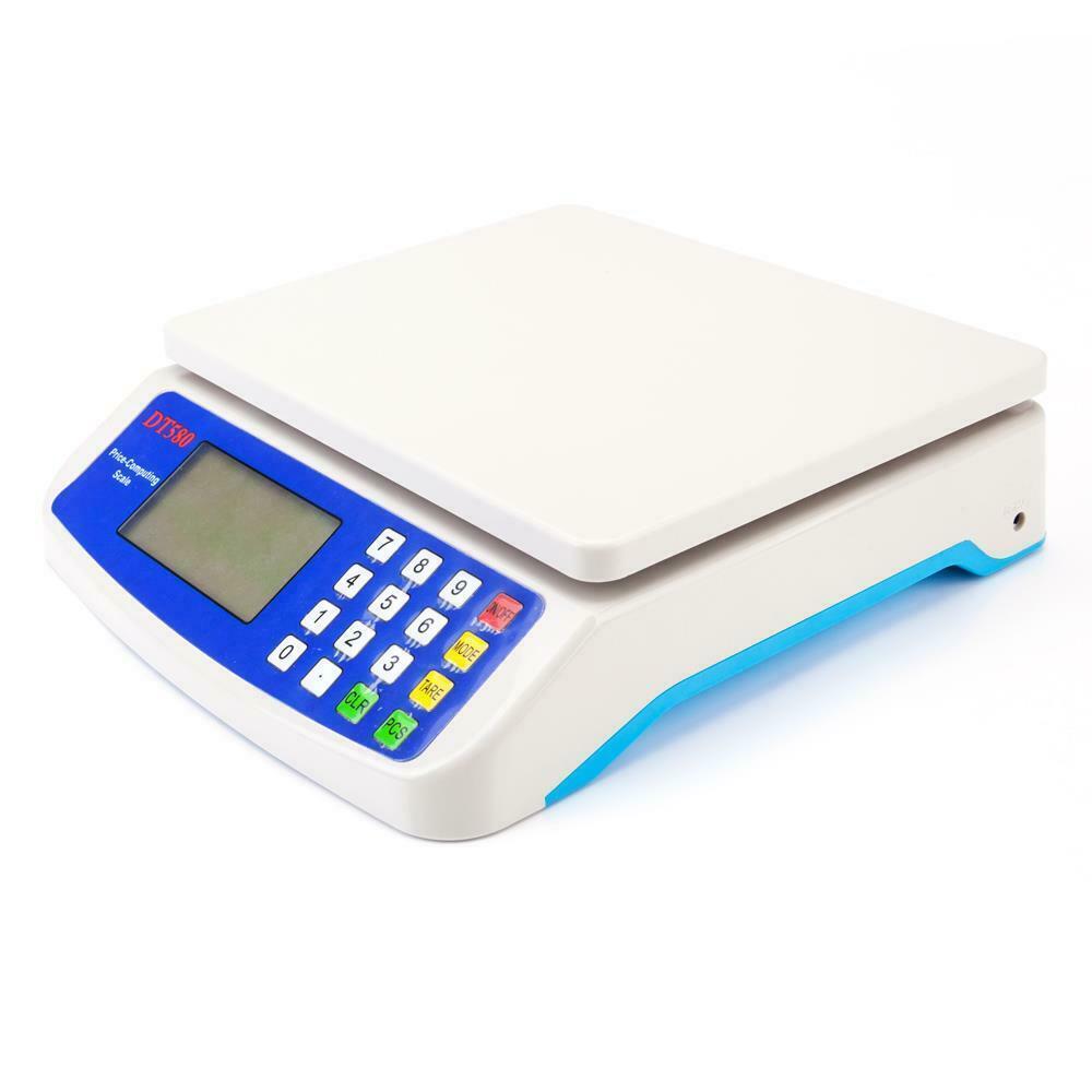 Denge Perakende Tartı Elektronik Dijital Fiyat Ölçeği 15kg / 33LB Scales