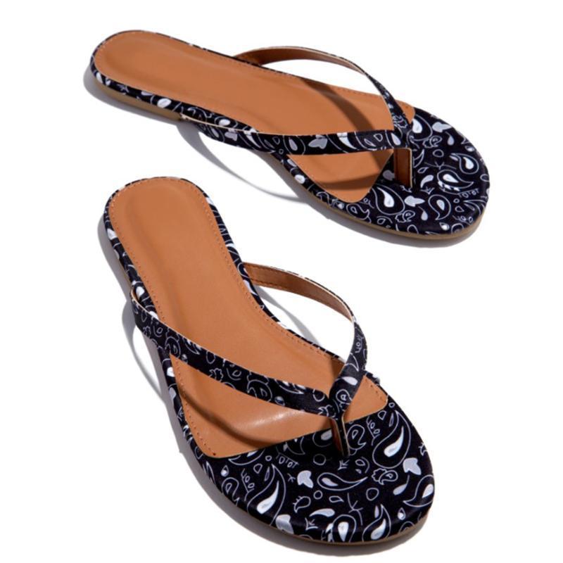 Women Flip Flops Printed Thong Sandals Summer Shoes Woman Beach Flip Flops For Women's 2020 Fashion Casual Ladies Shoes