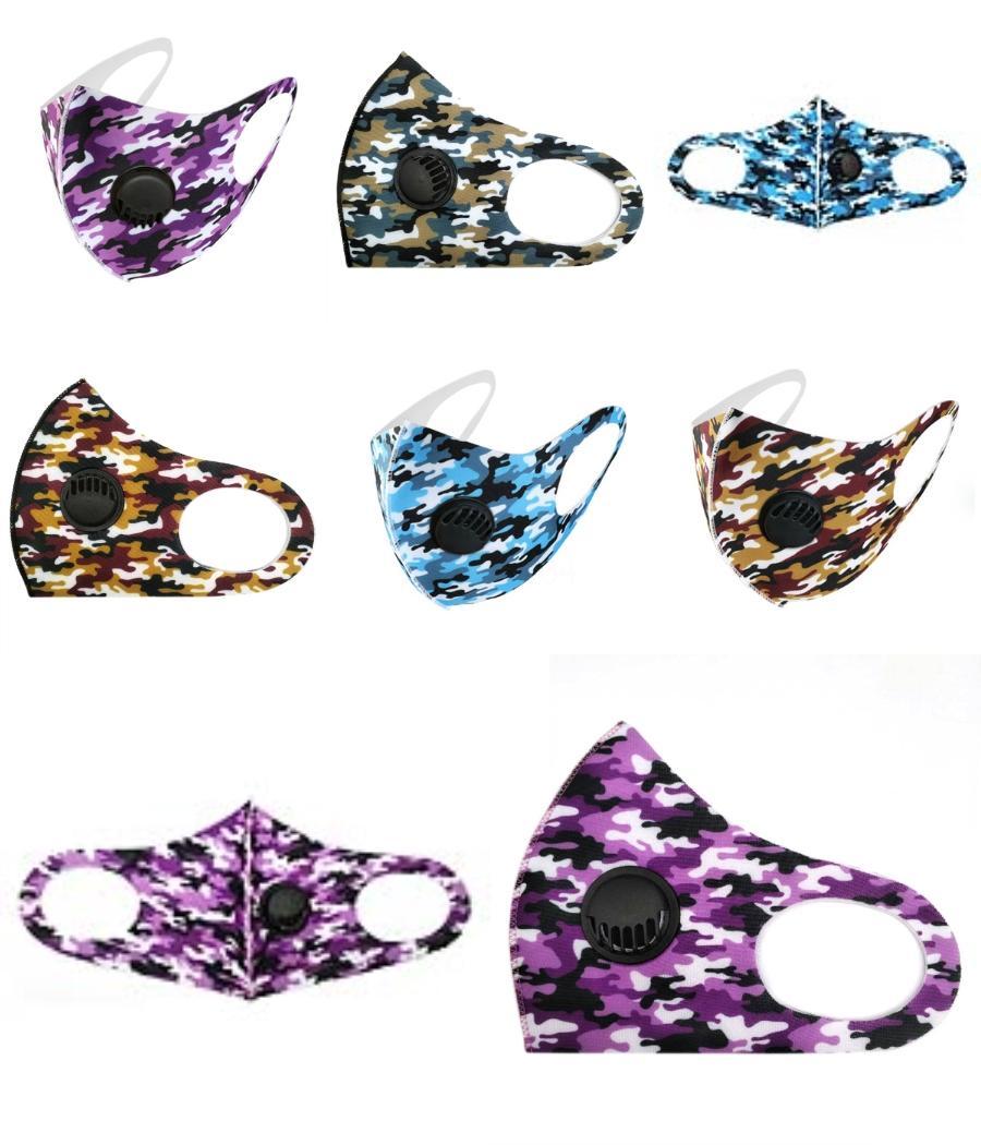 2020 Gesichtsmaske Waschbar amerikanische Wahl Druck Staubdichtes Masken Outdoor Radfahren Hals magischer Schal Bandana Designer Mask LJJ # 65 # 611 # 931 # 415
