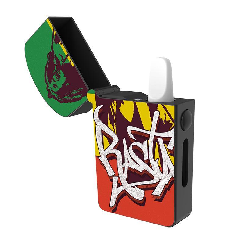Kits de starter de starter de estilo de isqueiro 510 baterias de vape do cartucho de fio