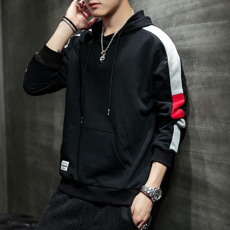 Hombres 2020 nueva primavera y el otoño sudadera con capucha de Corea ropa interior delgada camisa suéter Escudo calzoncillos manera del estudiante capa base kYlph de los hombres