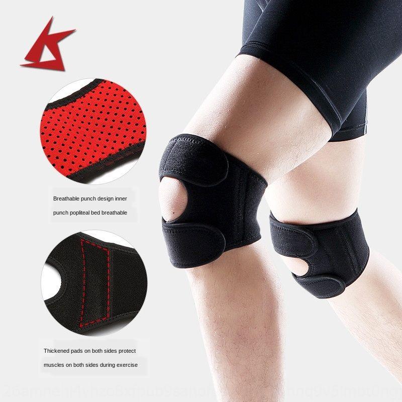R92VY Basketbol binme dağcılık erkek ve kadın dizlik profesyonel ayarlanabilir açık Sıcak açık hava spor spor dizlik koy