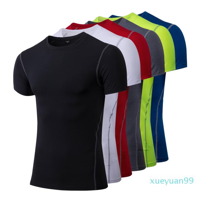 Livelli Mens Palestre Abbigliamento compressione fitness base sotto top aderente maglietta Esecuzione 2020 Fashion-Top Gear Skins Abbigliamento sportivo Fitness