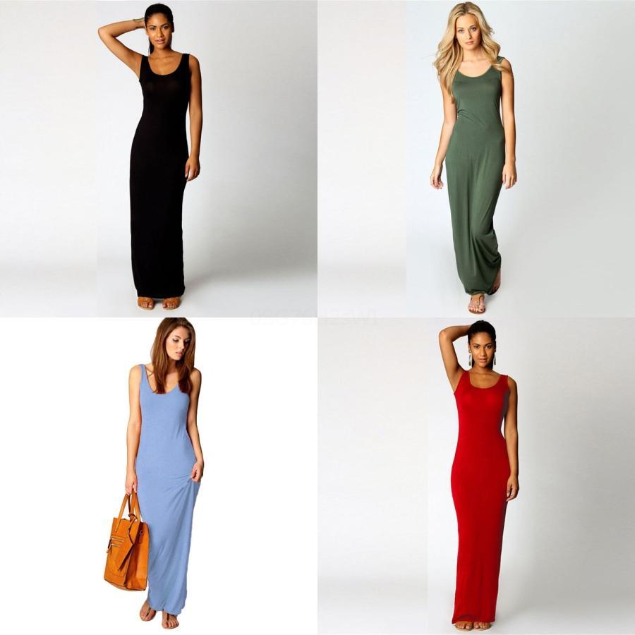 Moda otoño algodón de las mujeres de lino Boho sólido del vestido largo maxi de la manga cuello en V vestido Vestidos casual larga floja más el tamaño caliente # 680