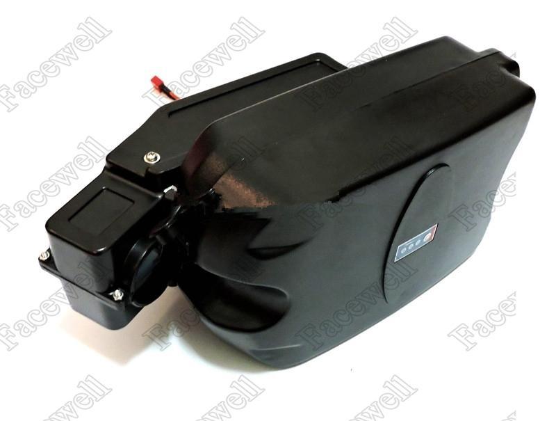 batteria 24v elettrico bici 24V 10Ah Li-ion con il caso della rana, BMS e US / pack caricatore di trasporto 10Ah ebike UE