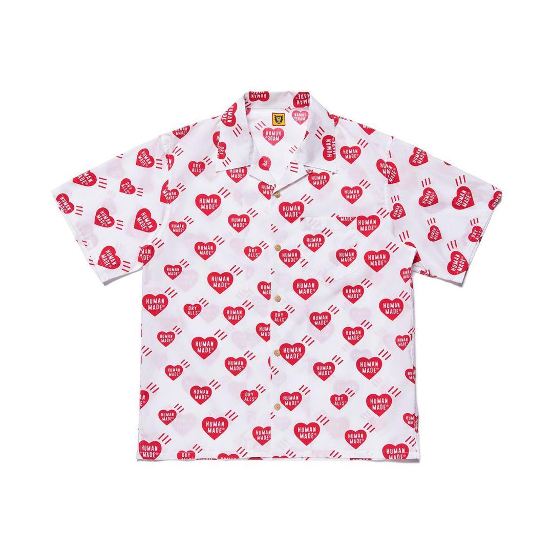 Mens Designer camisetas Moda humanas feitas 20SS bolso de manga curta completamente do amor Hawaii solto shirt Casual Rua S-XL