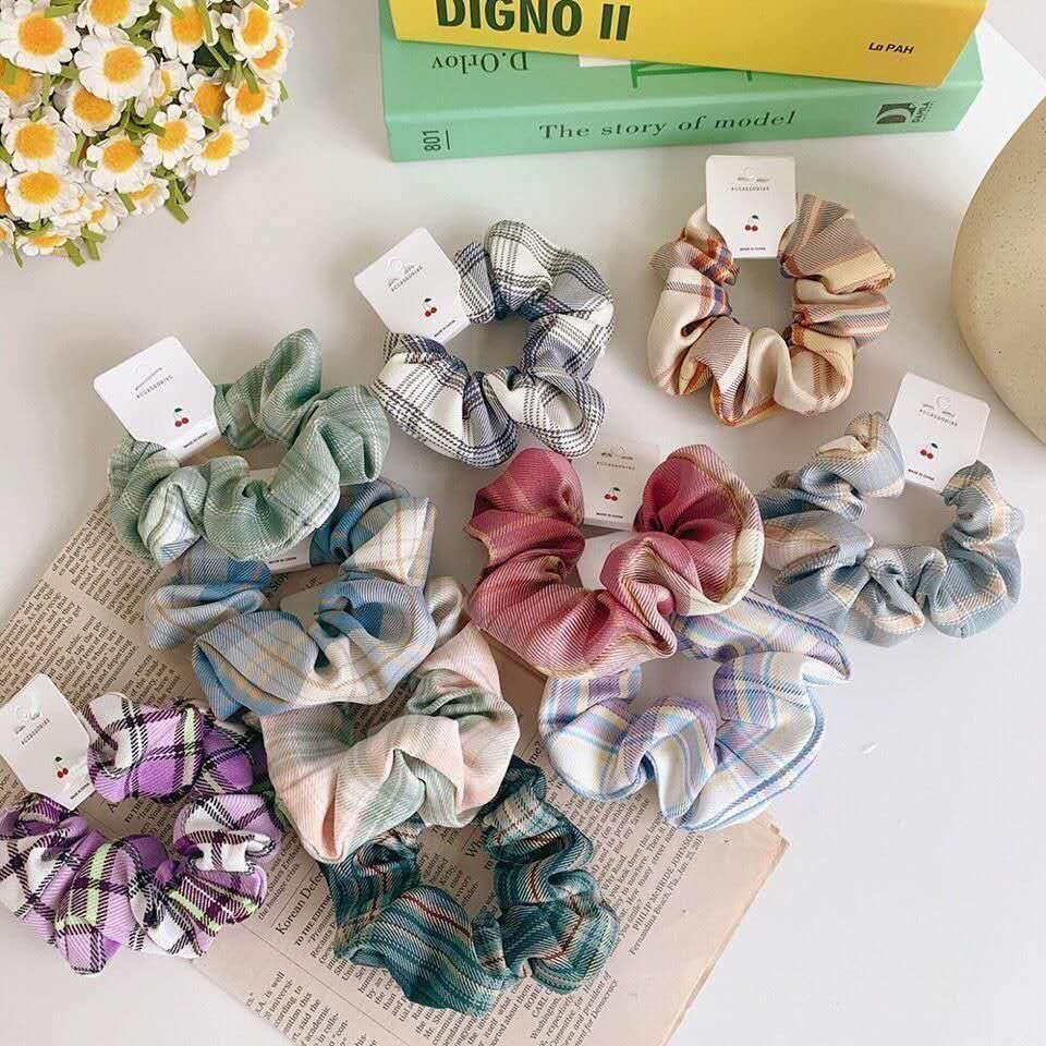 Hot venda designer de rabo de cavalo cabeça de veludo corda hairband elástico laço de cabelo corda cabeça adequado para mulheres ou meninas 50 tipos ofrandom06
